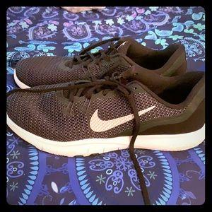Nike Flex athletic shoes